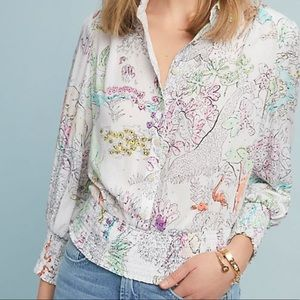 Anthropologie top ⚡️NWT✨